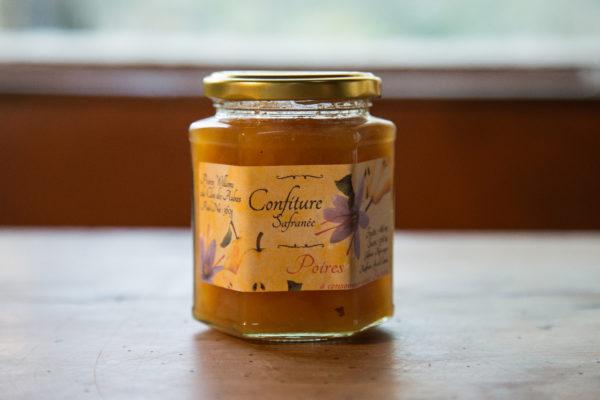 confiture de poire au safran