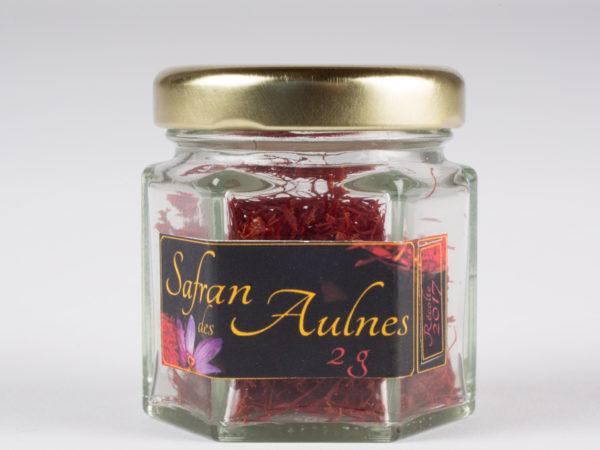 Safran bio filaments 2 g millésimé