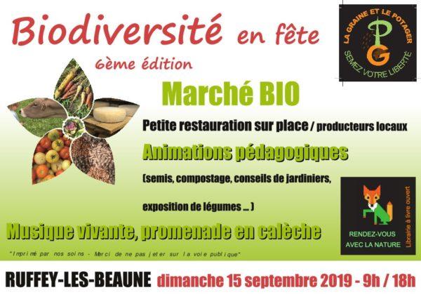 Biodiversité en fête à Ruffey-les-Beaune