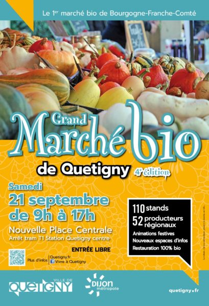 Grand marché bio de Quetigny